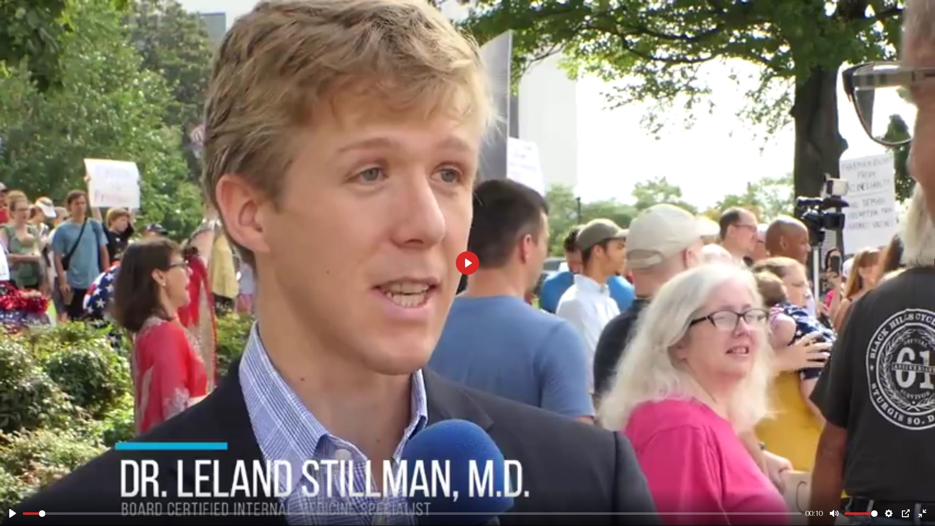 Young Doctor Explains Why He's Against Forced COVID-19 Vaccine