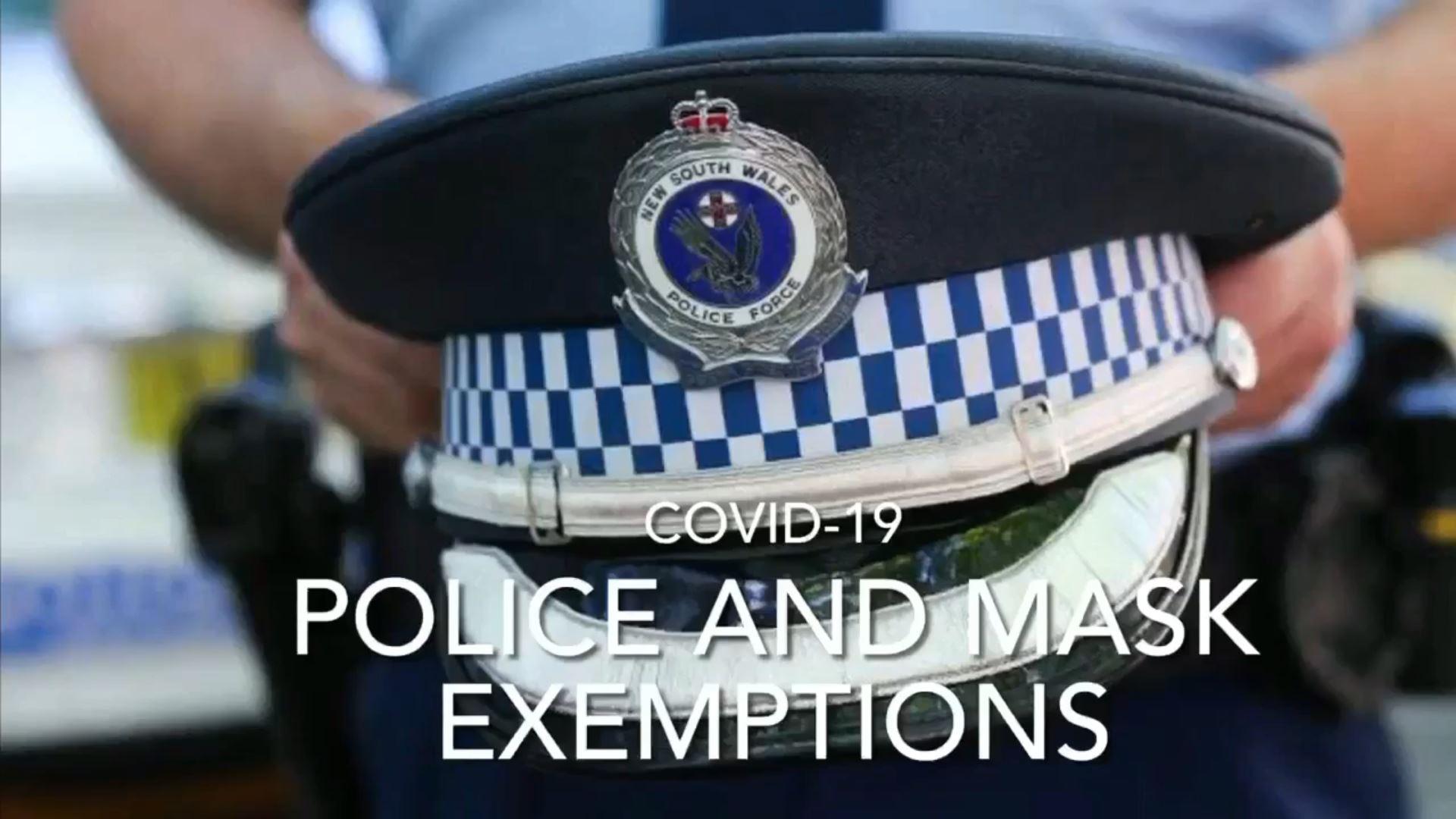 Australian Police and Mask Mandates