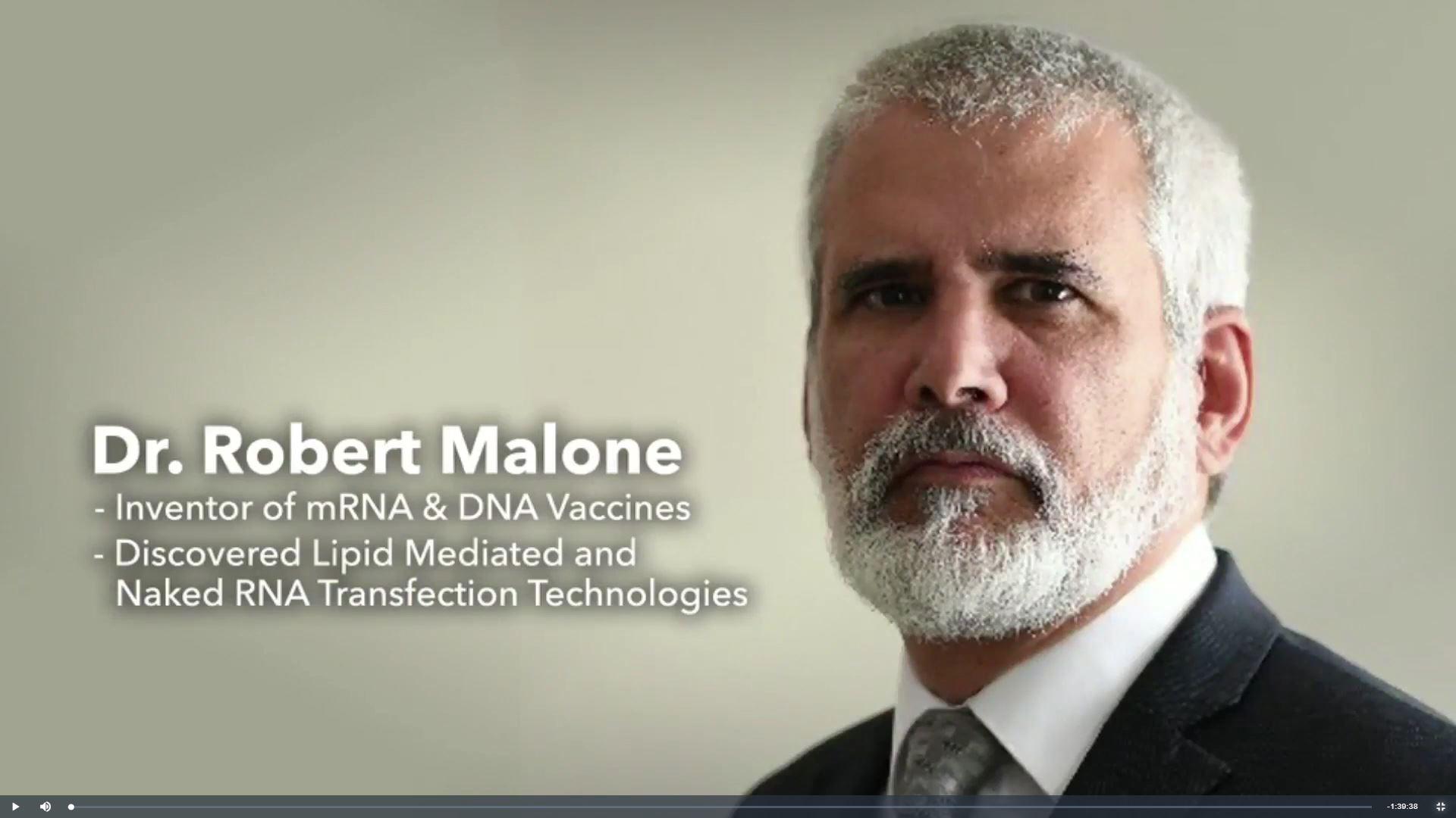 Dr Robert Malone
