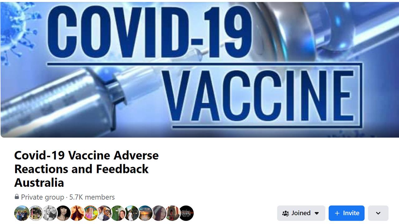 CV19 FB Adverse Reactions