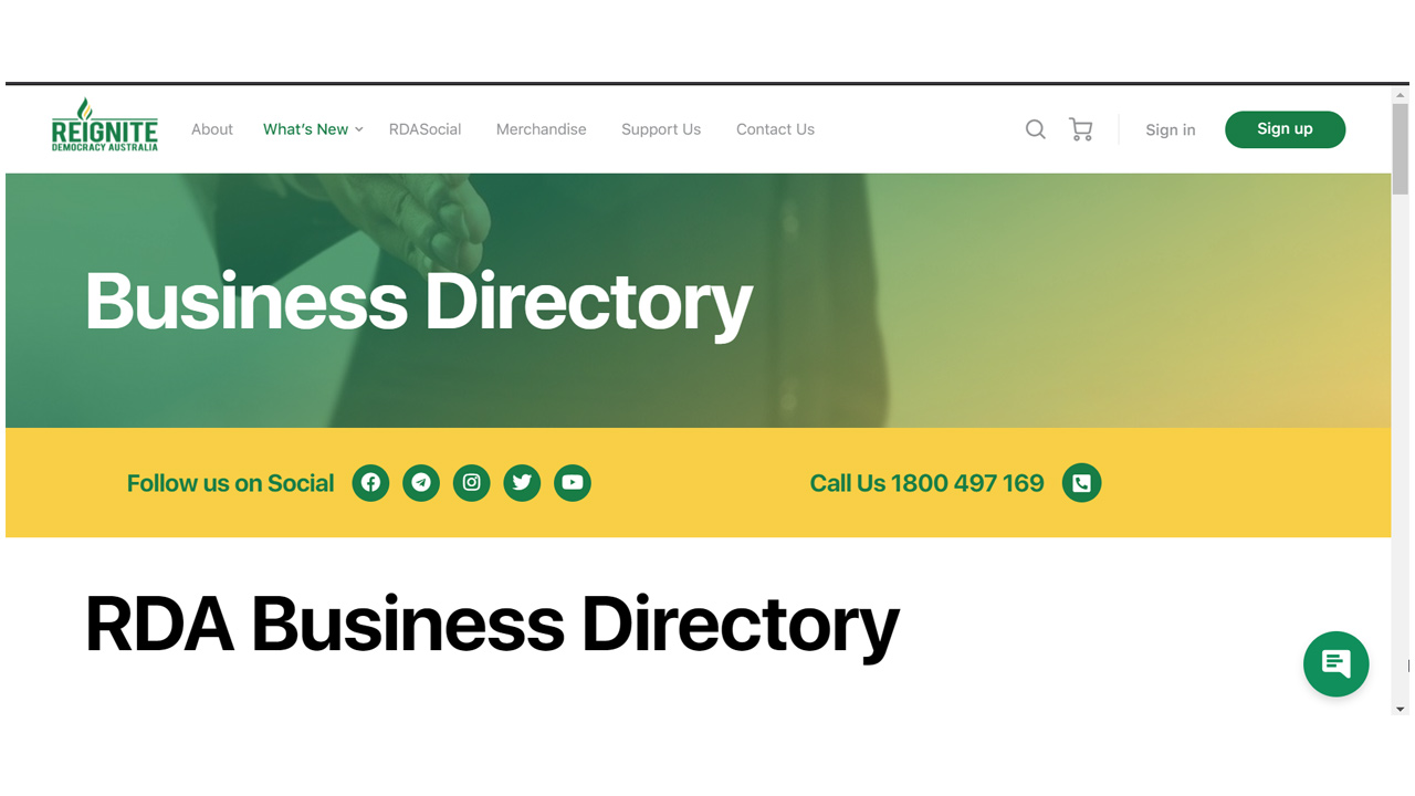 RDA Business Directory