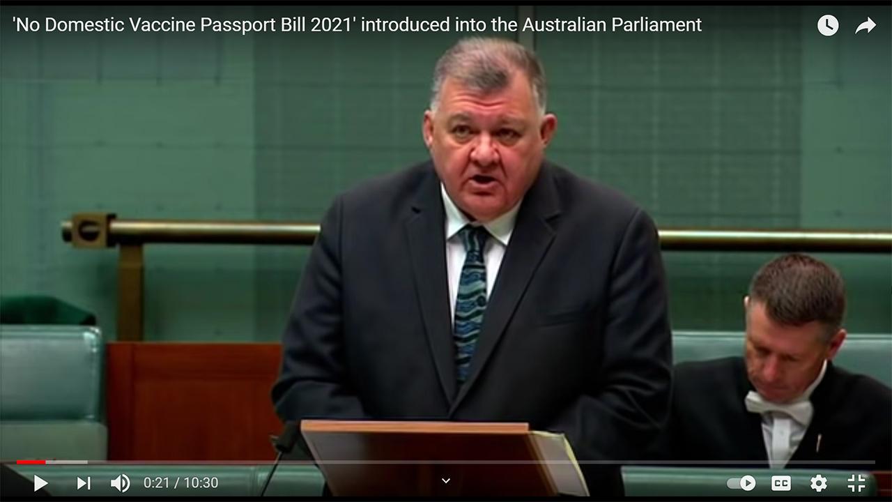 Senator Clive Kelly